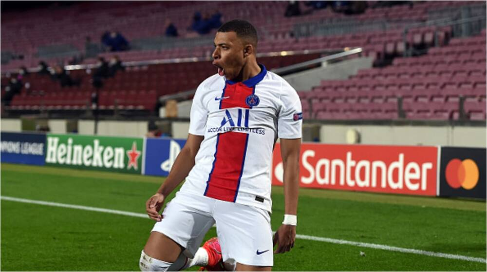 Sensational Kylian Mbappe nets twice as PSG defeat Barcelona right in Camp Nou