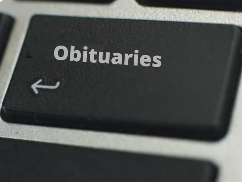 find an obituary for a specific person