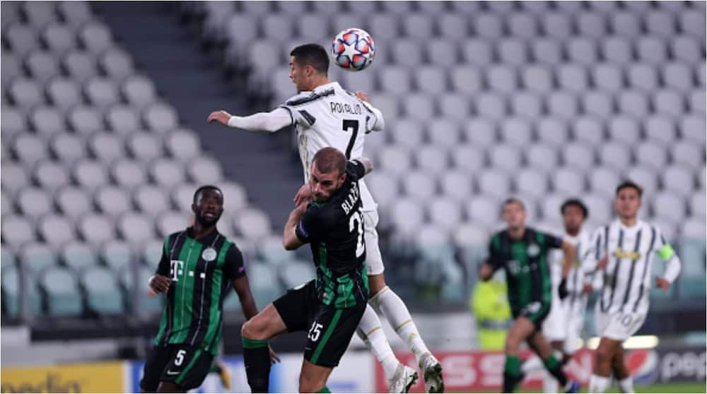 Juventus vs Ferencvaros: Cristiano Ronaldo sets new equals new record in 2-1 win