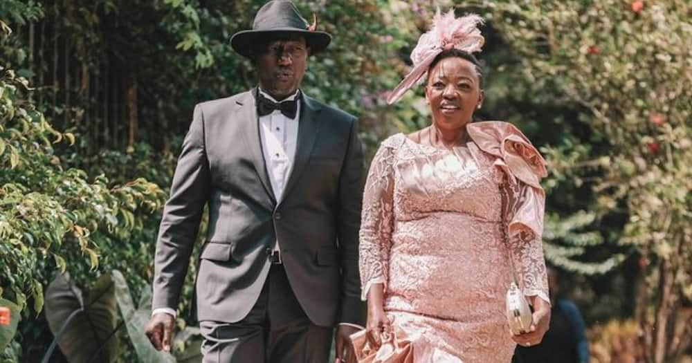 Artist Perfectly Draws William Ruto's Picture during Daughter June's Wedding