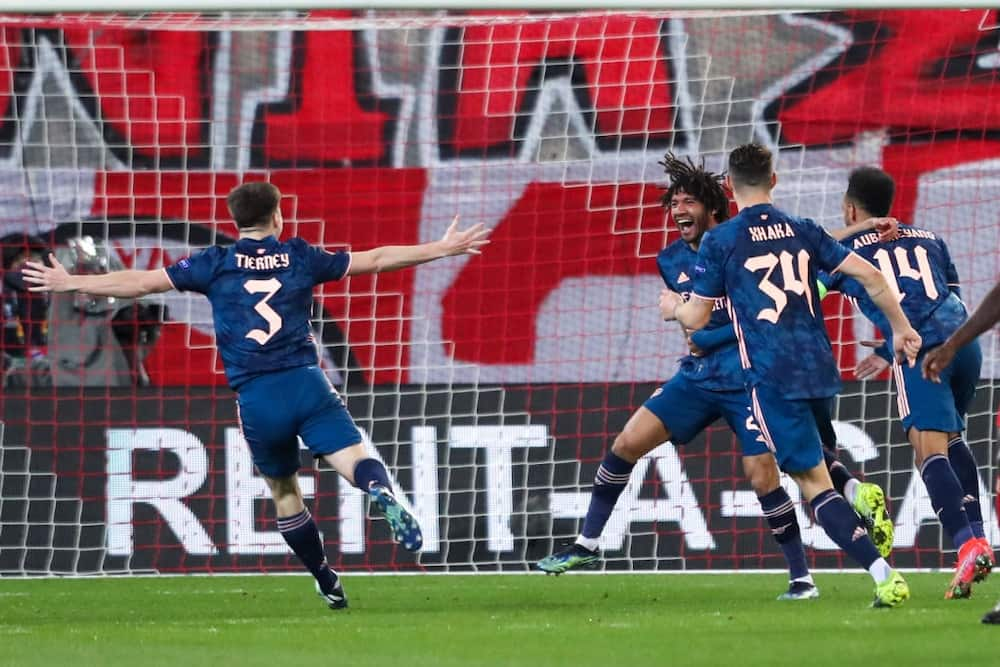 Europa League: Odegaard helps Gunners to comfortable 1st leg lead