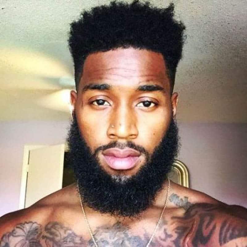 chin strap beard
