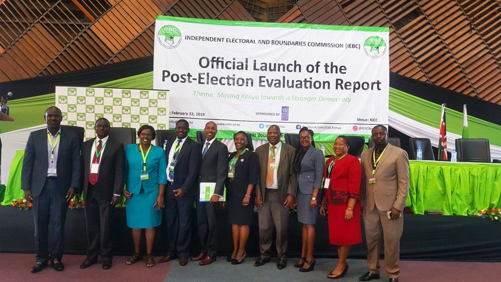 BBI recommends sacking of Wafula Chebukati and his team ahead of 2022 polls