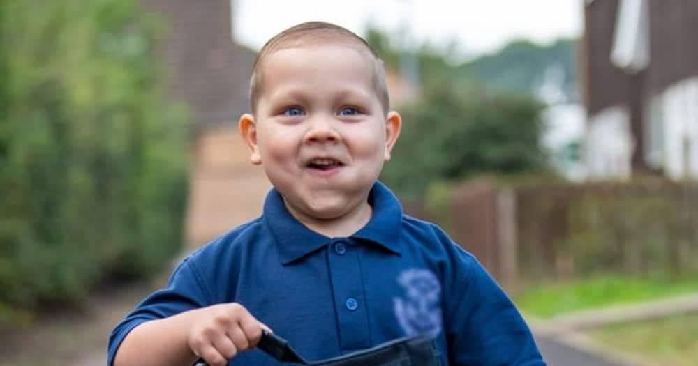 Little warrior: Boy beats cancer twice, starts school after bone marrow transplant