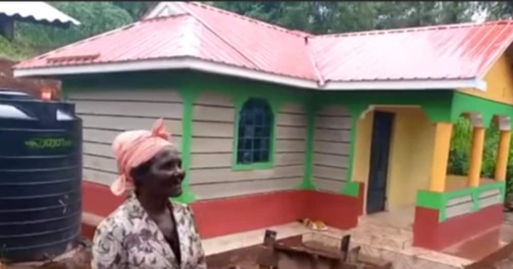 DP William Ruto had promised to build a house for 64-year-old Margaret Njambi, who hails from Murang'a.