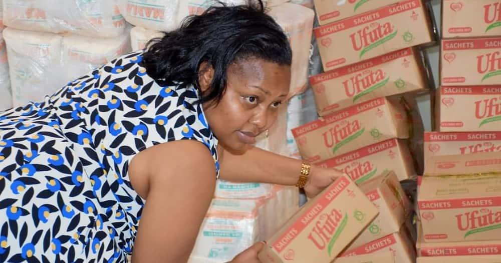 Seneta Millicent Omange awaongoza wanawake katika kampeni ya kutovalia 'bra'