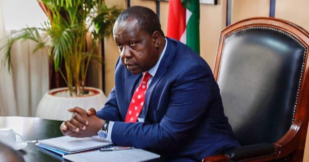 """Matiang'i hits back at William Ruto: """"Law enforcement officers must be respected"""""""