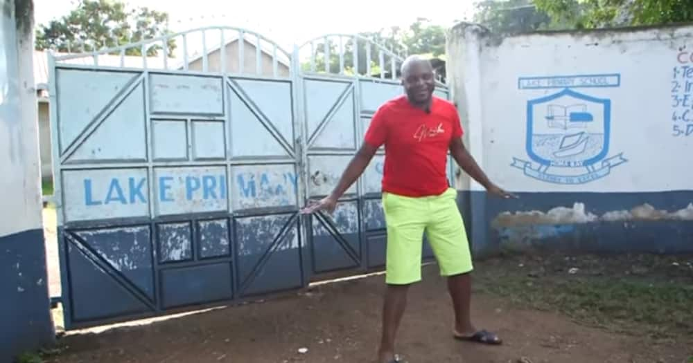 Where it started: Jalang'o takes fans on emotional tour of his former primary school