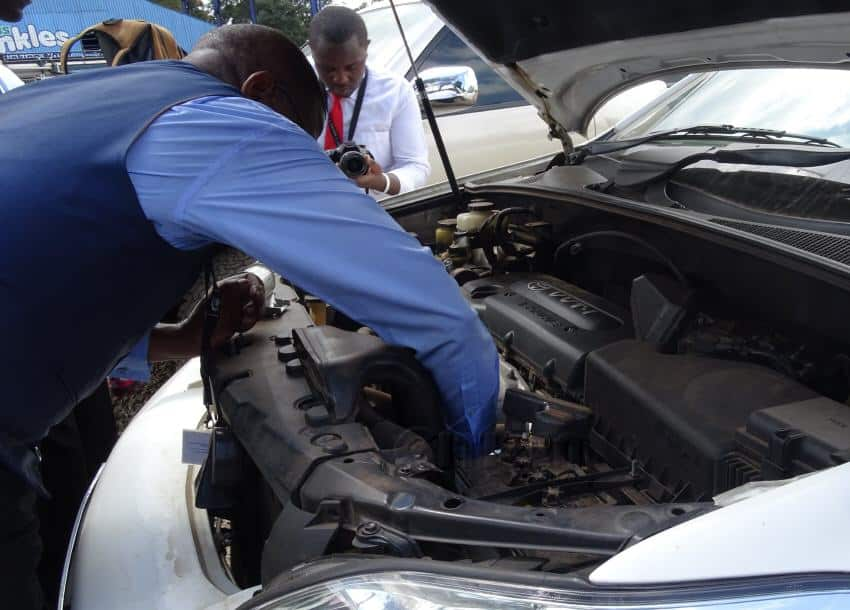 KRA official steals engine of impounded car, bribes guards with KSh 10,000
