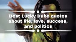 20+ best Lucky Dube quotes about life, love, success, and politics