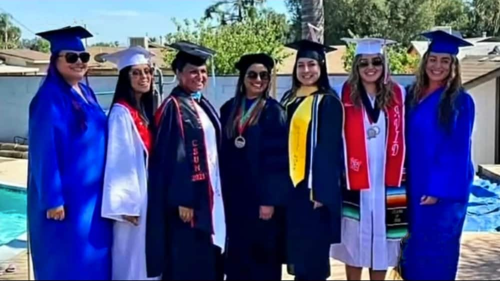 Proud Moment as 7 Women from Same Family Graduate in The Same Year