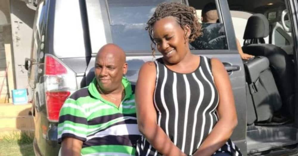 Jonathan Mukundi and Philomena Njeri. Photo: Philomena Njeri.