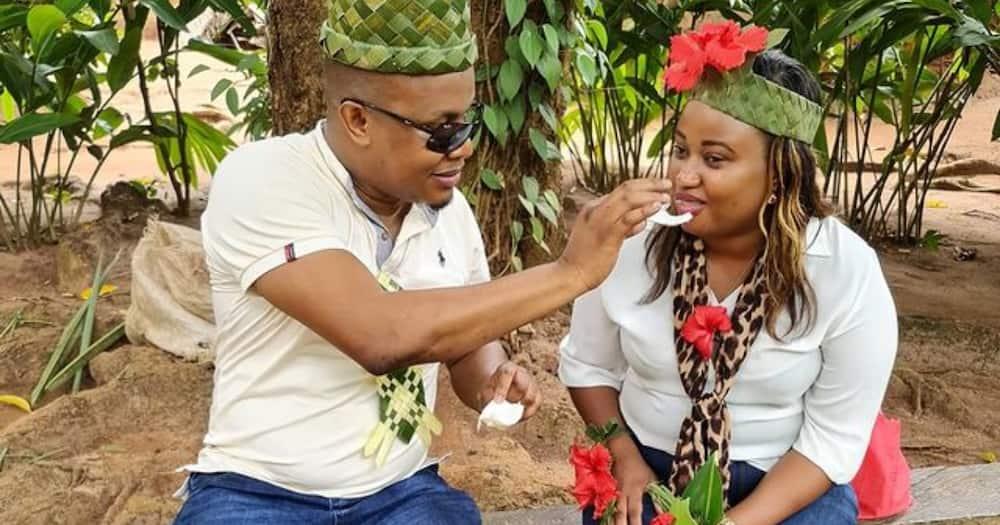 KBC news anchor Bonnie Musambi's wife treats him to Zanzibar trip as he marks birthday
