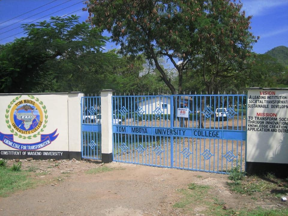 Tom Mboya University college admissions, fees structure, courses offered