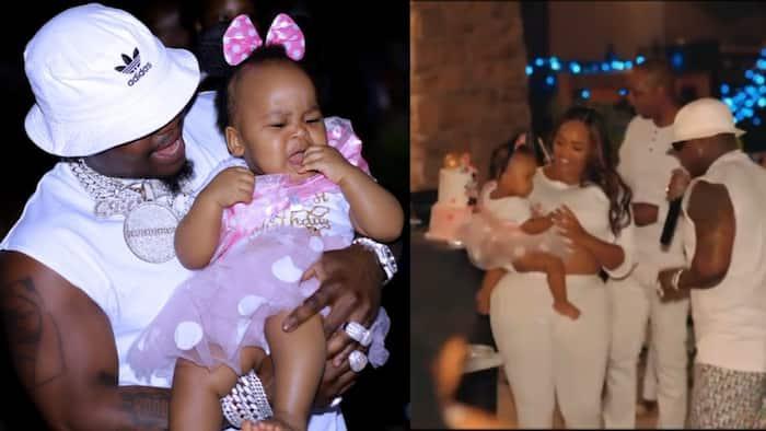 Kenyan Woman in US Splashes KSh 7.8 Million for Daughter's 1st Birthday, Invites Harmonize to Perform