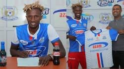 Former Gor Mahia captain officially unveiled by Tanzanian club Azam FC