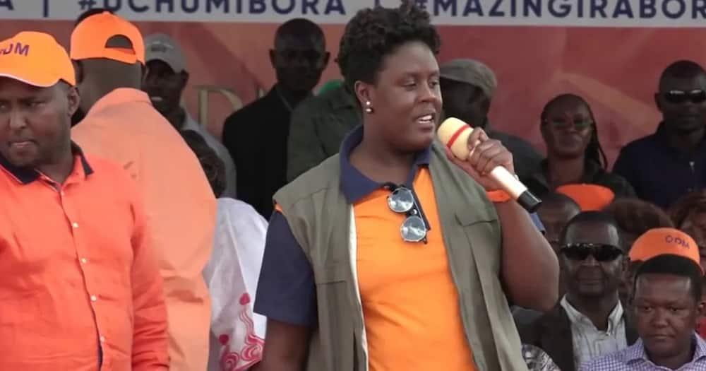 Bintiye Raila Winnie Odinga Adai Ataolewa 2022 Baada ya Babake Kuingia Ikulu