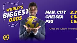 These are the highest odds in the world for Man City, Chelsea and PSG matches