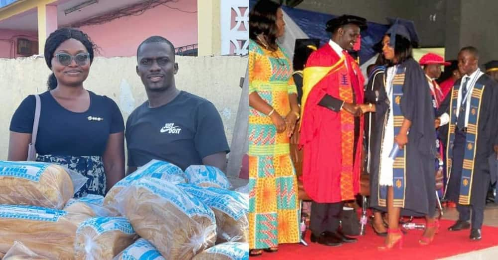 First-Class Graduate Resorts to Selling Bread on Street Due to Unemployment