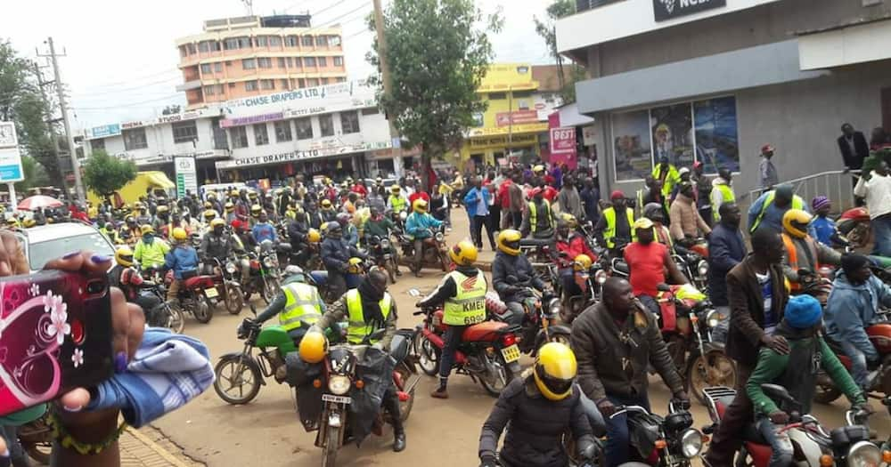 Kapenguria MP Samuel Moroto's driver knocks down Trans Nzoia boda boda chairperson dead, sparks protests