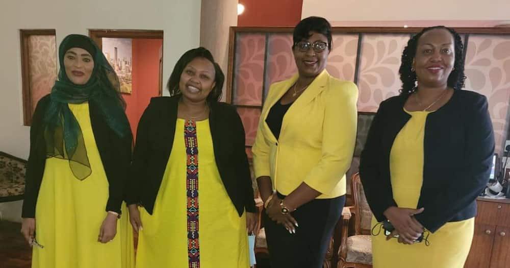 UDA MPs dressed in yellow colours to celebrate Kiambaa MP John Njuguna.