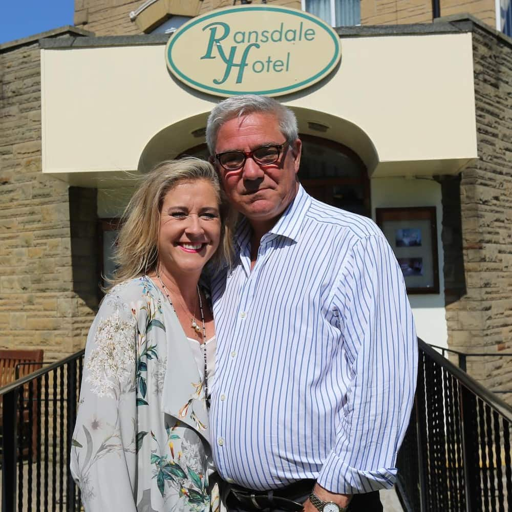 Stephanie Parker and Dominic Parker