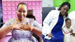 Emmy Kosgei's Fans Contribute Money to Support Disabled Mum Struggling to Raise Ailing Daughter