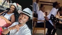 Bahati stirs up reactions online after twerking on Diana Marua while celebrating her birthday