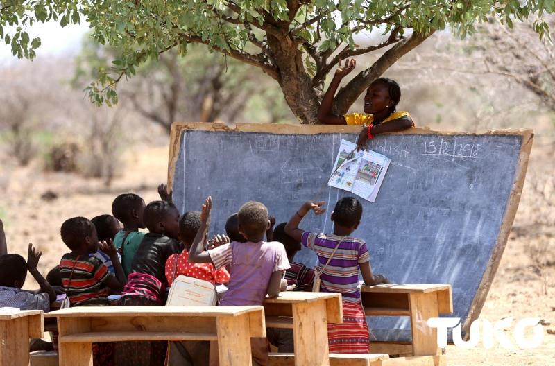 In Moi's Baringo backyard, schools have no classrooms despite his 24 years as president