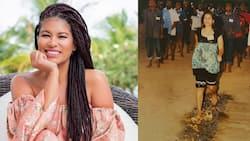 Julie Gichuru Shares Throwback Photo Fearlessly Walking on Fire Barefoot