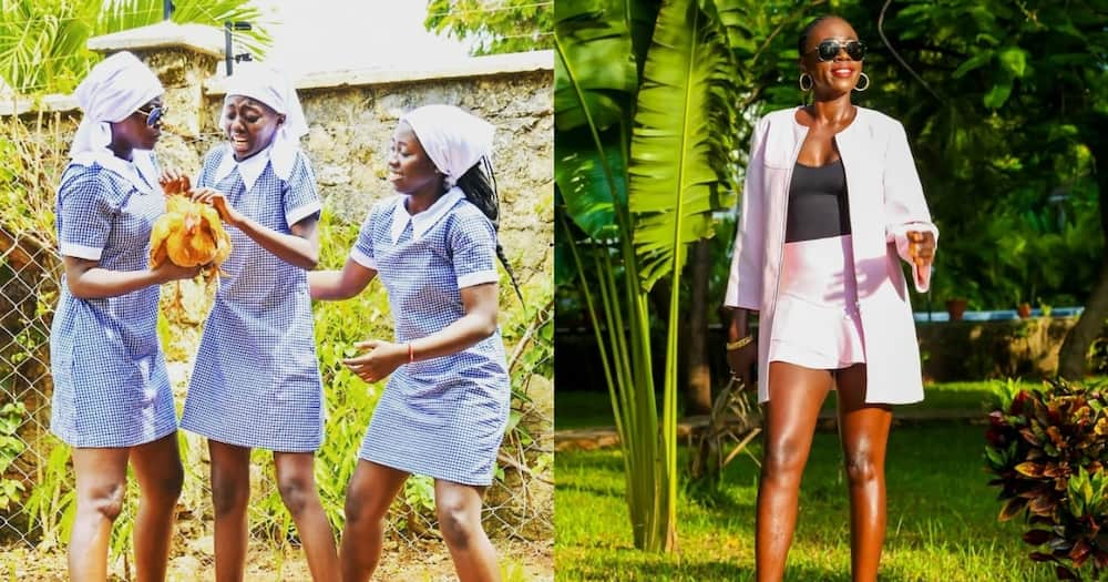 Akothee says she buys her children alcohol to avoid men who take advantage of young women