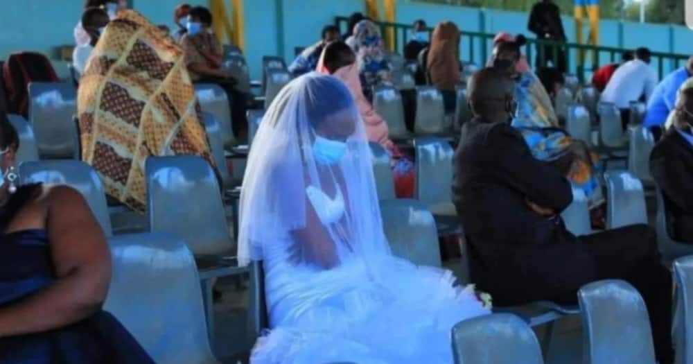 Newlyweds, Guests Forced to Spend Wedding Night in Football Stadium for Violating COVID-19 Rules