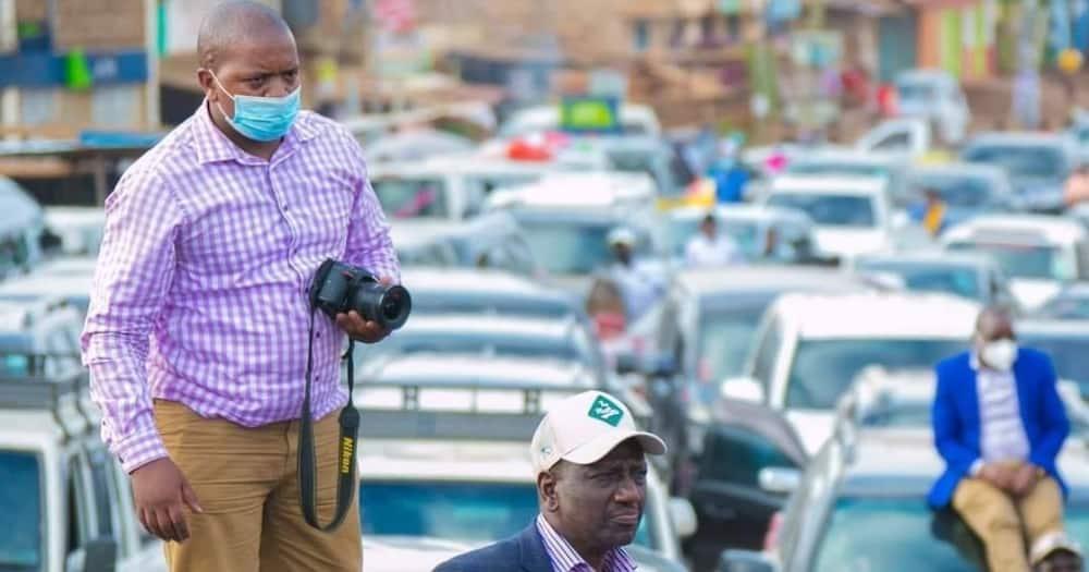 Naitwa Mwangi: DP Ruto Akutana na Mpiga Picha Awake Anayetamba