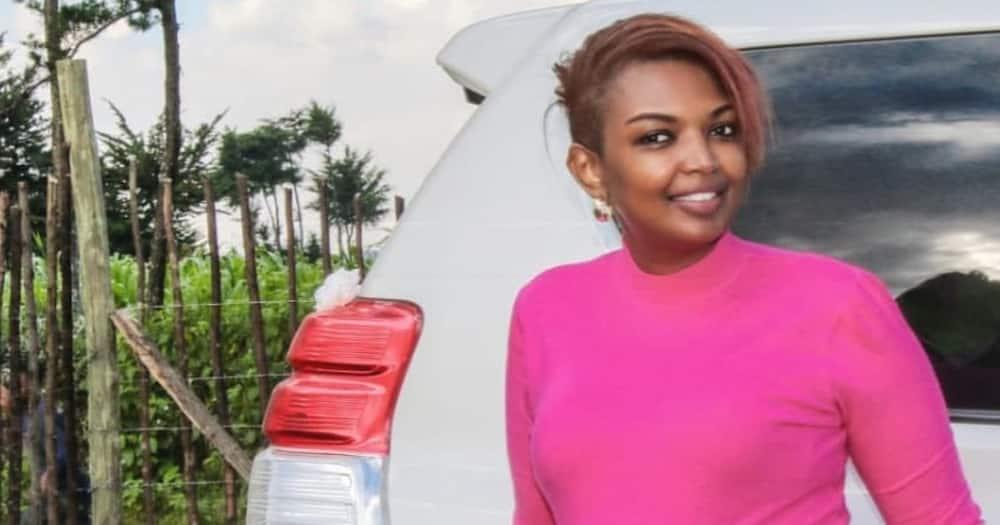 Karen Nyamu jokingly hints she'll release another video of Samidoh
