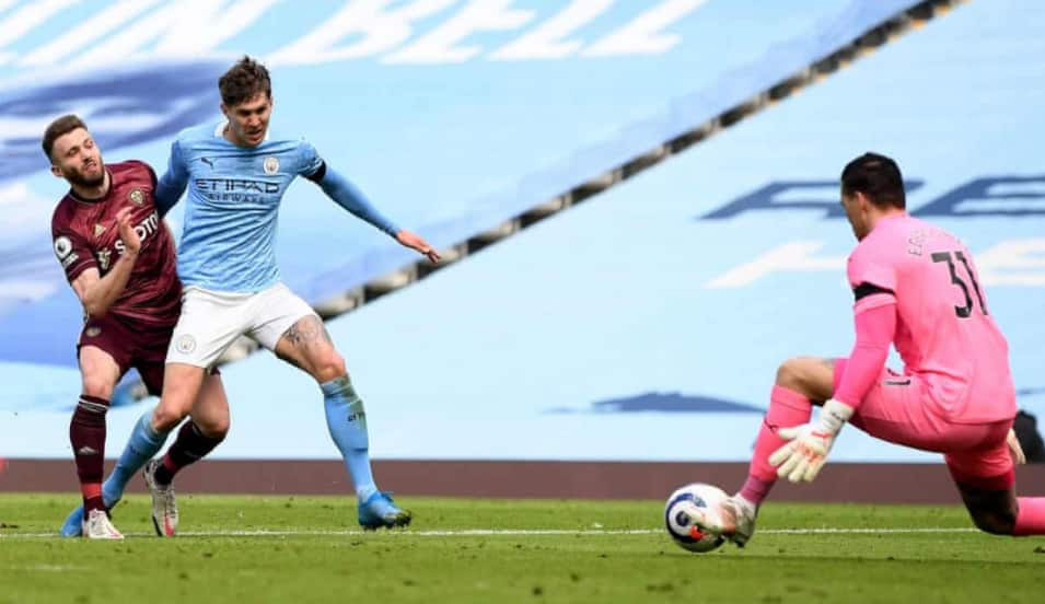 10-man Leeds stun runaway league leaders Manchester City at the Etihad