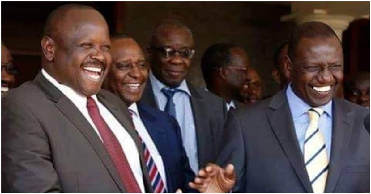 Isaac Ruto reconciles with William Ruto, pledges to unite him with rebel Rift Valley MPs