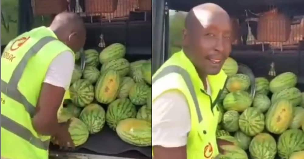 "Maasai Man Stuns Kenyans After Carrying Hundreds of Watermelons in G-Wagon: ""The Audacity"""