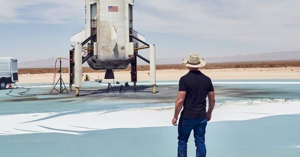 Jeff Bezos Set to Become First Billionaire to Travel to Space