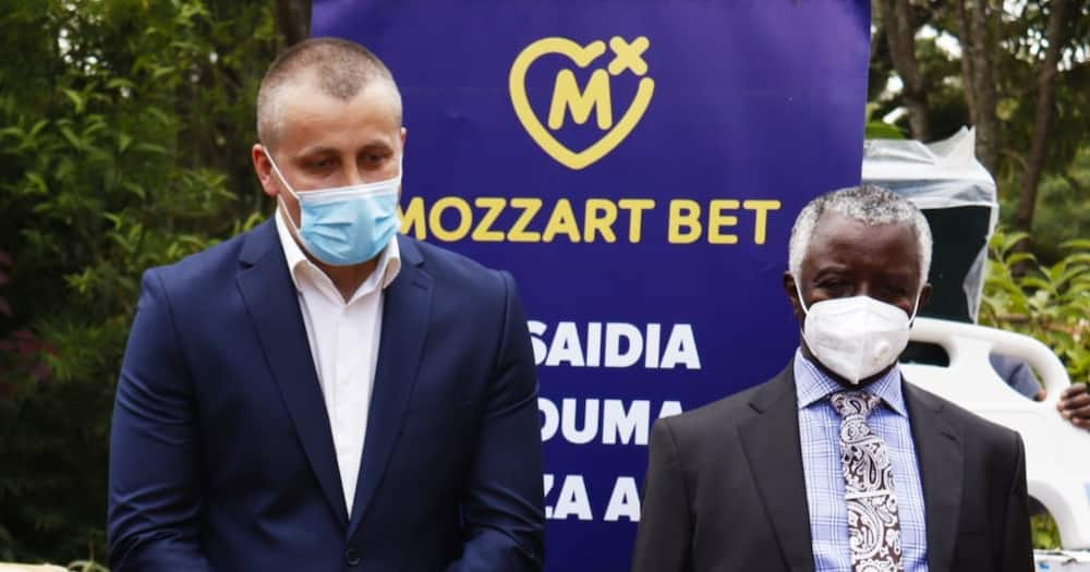Awiti was very grateful to Mozzart and said the donation would go a long way in improving health care in the county. Photo: Mozzart.
