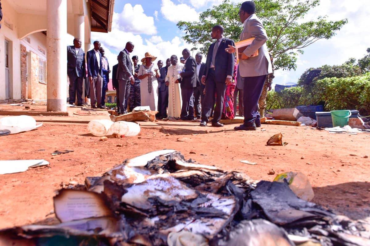 At least 11 boys die in Uganda boarding school fire