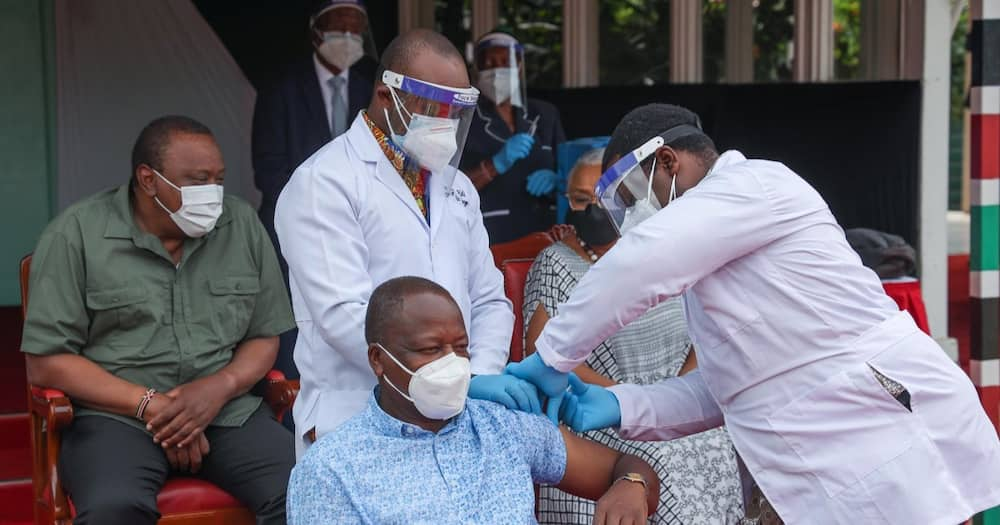 Kenya has vaccinated 1,750,260 people only.