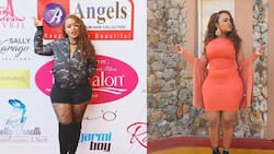 Gorgeous singer Avril flaunts captivating curves one year after giving birth