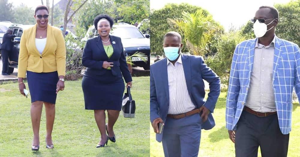 Karen: Viongozi waliofika kwa DP Ruto kuhudhuria mkutano wa BBI