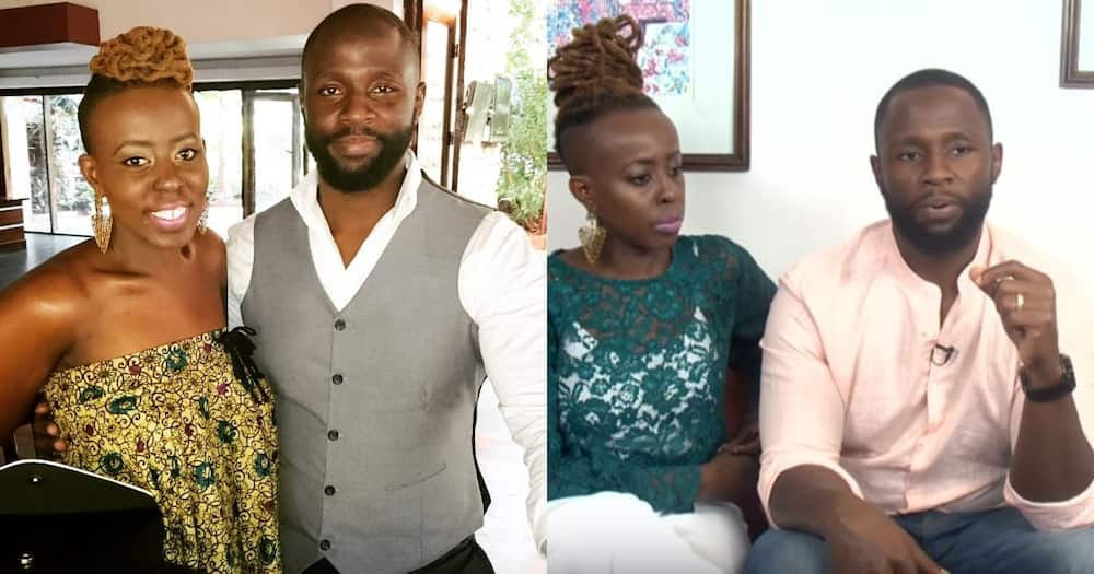 John Allan Namu and Sheena Makena.