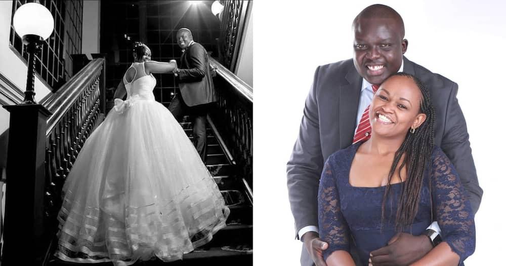 Syombua and David Osiany celebrate 6th year of marriage.