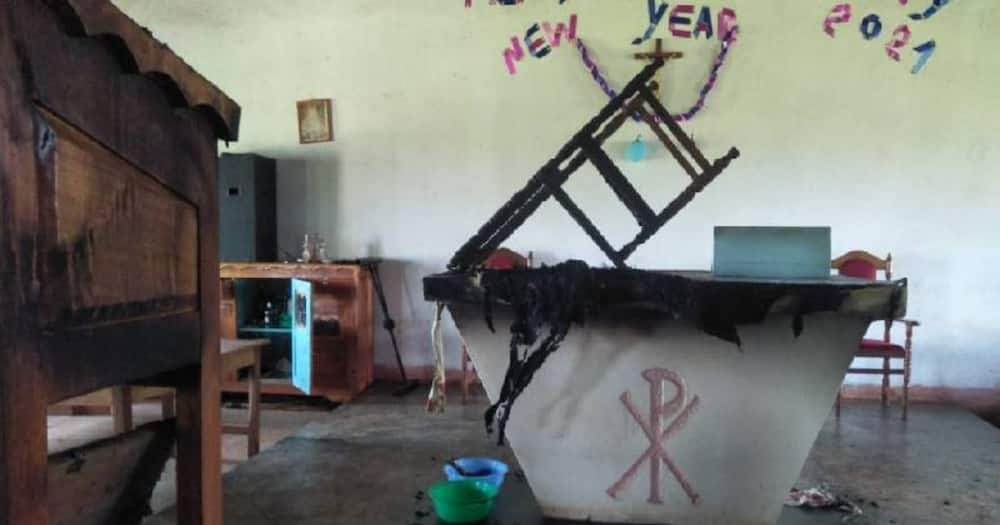 Kisii: Police in hot pursuit of suspects who set ablaze 6 churches