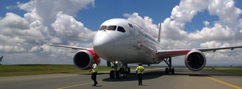 Body of Kenyan man falls off KQ flight in London