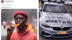 Scorned woman vandalises cheating bae's luxurious BMW and netizens cannot keep calm