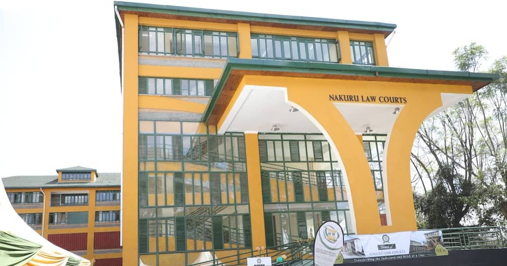 The newly opened Nakuru Law Courts.