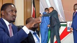 Respect Kenya and we'll respect you, Mwangi Kiunjuri blasts Uhuru, Ruto and Raila